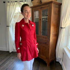 Nvgard Red Spring/Fall Jacket, Size 2
